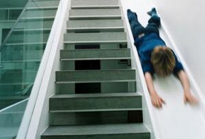 Escaleras originales. Muchos peldaños de creatividad