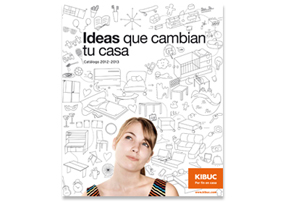 """Ideas que cambian tu casa"", nuevo catálogo de Kibuc"