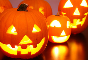 DIY de halloween ¡Una lámpara eléctrica de calabaza!