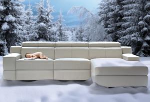 Un sofá que te da calor en invierno
