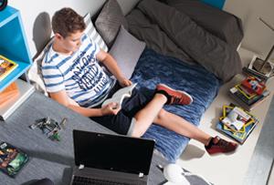 Habitaciones juveniles Kibuc. Los mejores ambientes para estudiar y descansar
