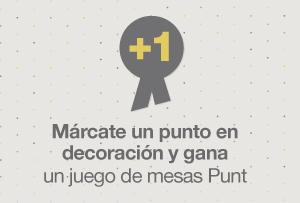 ¡Concurso! Márcate un punto en decoración y llévate un juego de tres mesas Punt valoradas en 221€