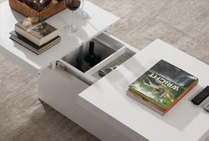Muebles polivalentes que nos ofrecen un plus de espacio para guardar