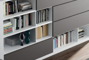 Cómo organizar los libros de una manera práctica y decorativa