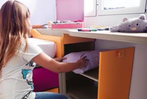 Organizar el armario de los niños no es misión imposible