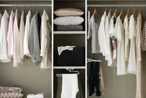 Cómo distribuir el interior del armario. Ideas muy útiles para mantener el orden