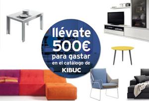 ¡Concurso facebook! Llévate 500€ para gastar en el nuevo catálogo de Kibuc