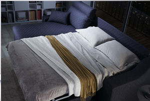 Sofás cama. ¿Sistema de apertura italiano o clic-clac?