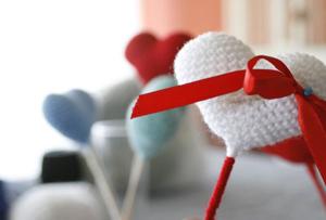 Decoración con corazones. San Valentín entra en tu casa