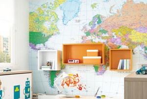 Decorar con mapas las habitaciones infantiles ¿Exploramos?