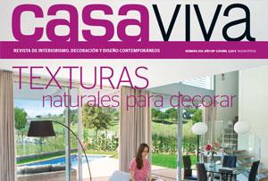 Muebles Kibuc portada en la revista Casa Viva