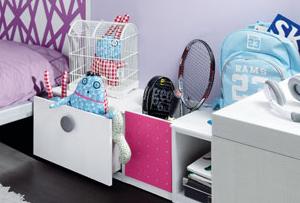 Organizar la habitación de los niños. Ideas para hacer fácil el orden