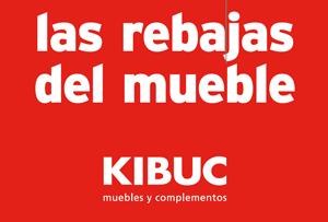 Rebajas de muebles Kibuc. Calidad y diseño al mejor precio