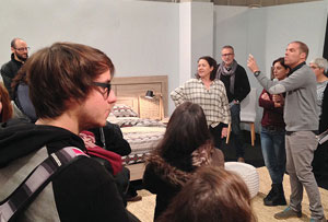 Kibuc acerca la empresa a los estudiantes del sector del diseño