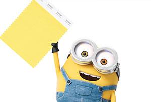 Color de moda según Pantone, el amarillo Minion. Vitalista y positivo