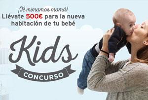 Concurso para mamás en Facebook. Gana un cheque-regalo de 500€