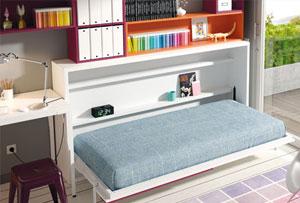 Cómo decorar habitaciones juveniles pequeñas. Soluciones en muebles