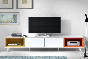 Consejos para escoger tu mueble multimedia. Conecta con nuestras ideas