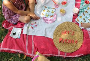 Celebramos la primavera con un picnic muy creativo al aire libre