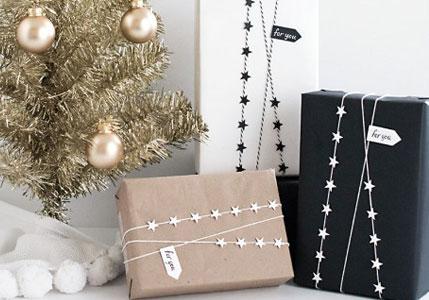 Un envoltorio para regalo elegante y con estilo. Inspira tu Navidad