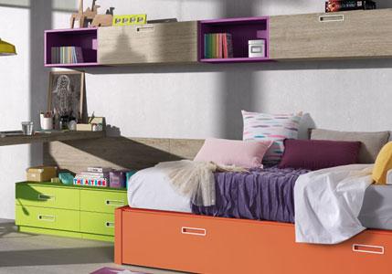 Cómo elegir colores para un dormitorio juvenil. ¿Tonos vivos o neutros?