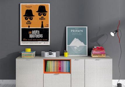 Ideas para decorar paredes con estilo. Pierde el vértigo a la pared en blanco