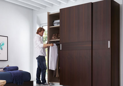 Cómo elegir las puertas del armario del dormitorio y acertar