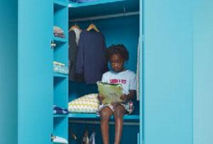 Soluciones de almacenaje para dormitorios infantiles