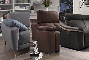 Escoger el tapizado del sofá ¿con cuál me quedo?