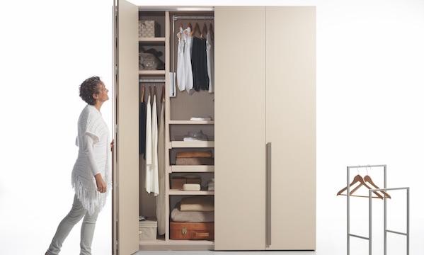 Estos armarios prácticos te ayudarán a que impere el orden