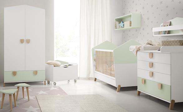 El A, B, C del bebé. Los muebles básicos para su cuarto