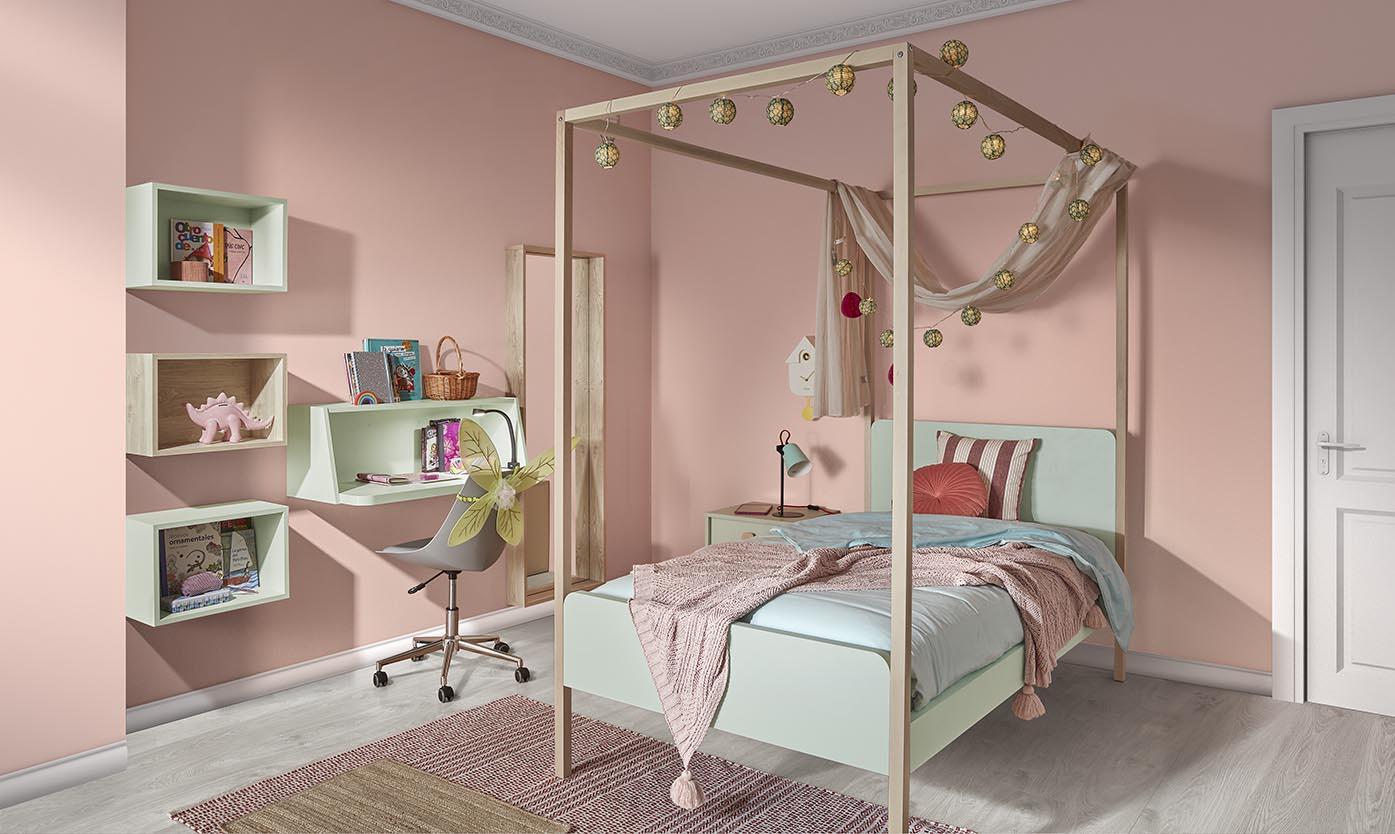 Novedades de otoño: cama con dosel colección Play
