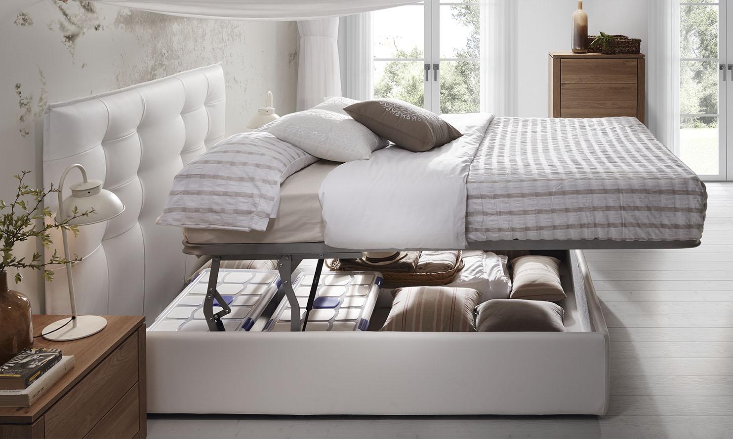 Cinco razones para elegir una cama con canapé