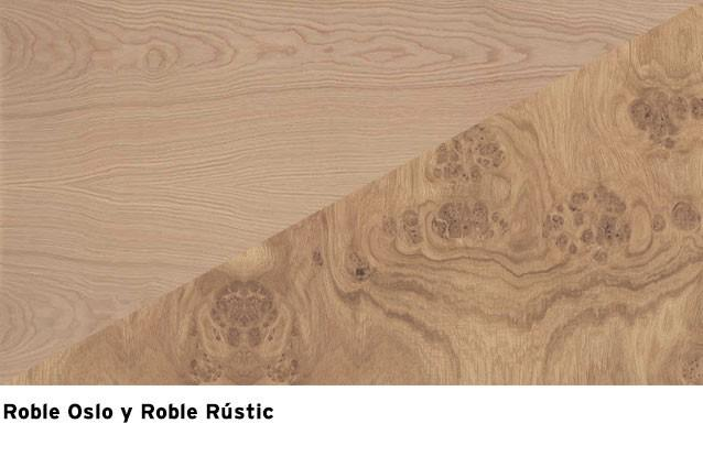 Roble Oslo + Roble Rustic Asai