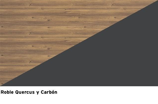 Roble Quercus + Lacado Carbon