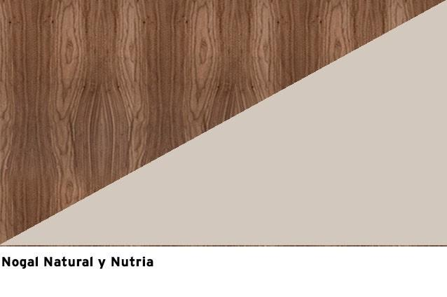 Nogal natural + Nutria