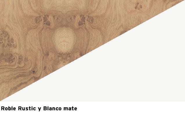 R. Rustic + Blanco mate