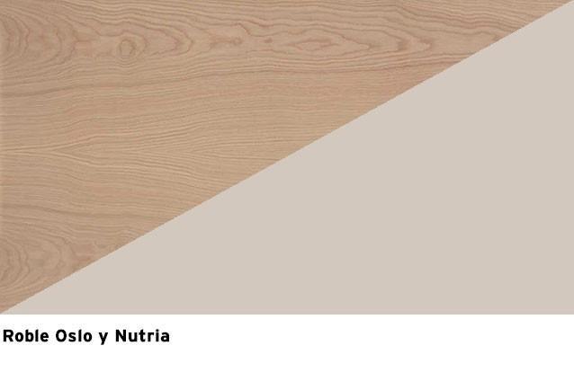 Roble oslo + Nutria