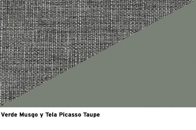 Verde Musgo + Picasso Taupe