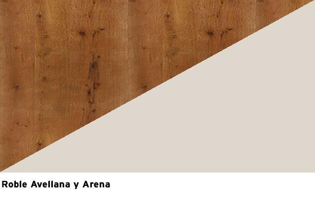 Roble Avellana + Laca Arena