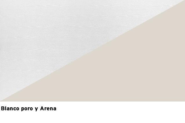 Laca Blanco poro + Laca Arena