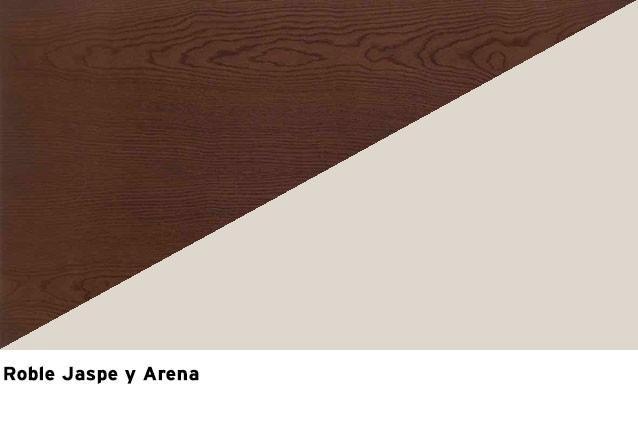Roble Jaspe + Laca Arena