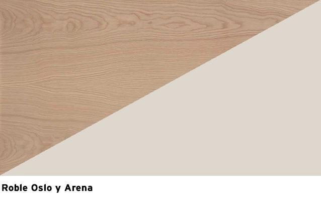 Roble Oslo + Laca Arena