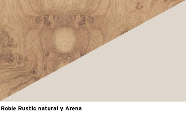 R. Rustic Natural + Laca Arena