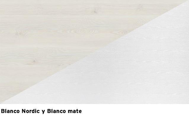 Blanco nordic + Blanco mate