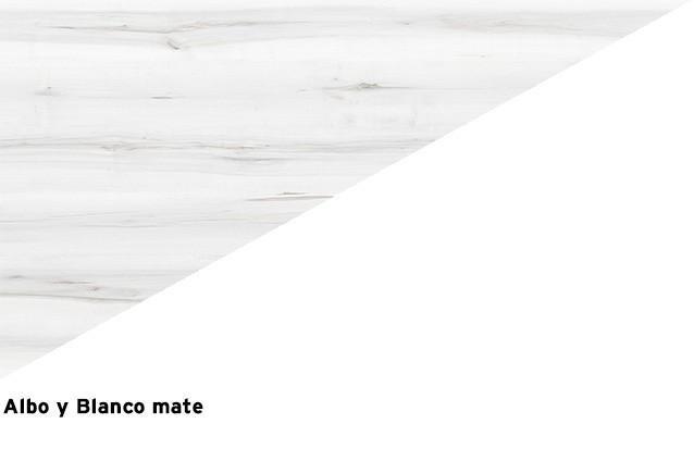 Albo + Blanco mate