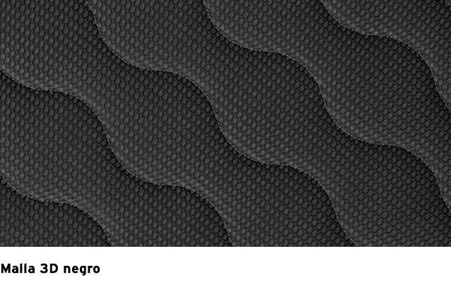 Malla 3D Negro