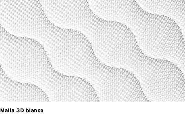 Malla 3D Blanco