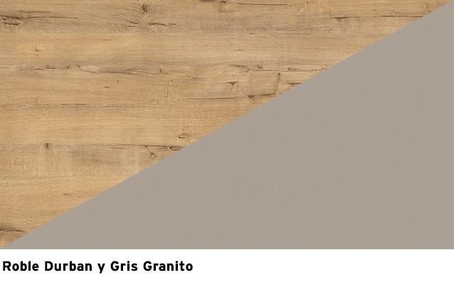 Roble Durban + Gris Granito