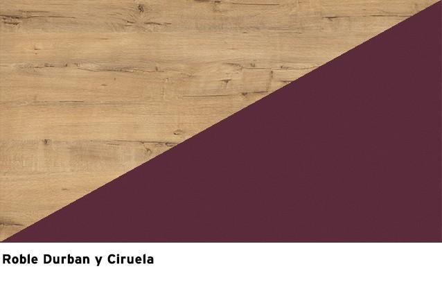 Roble Durban + Ciruela